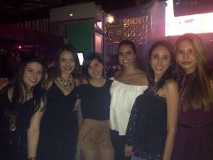 Érika Meneses, Lucía Becerra, Paula Vega, Diana Delgado, Mary Giraldo y Johanna Martínez. - Suministrada/GENTE DE CAÑAVERAL
