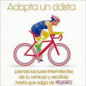 Esta es la imagen que ha estado circulando en los últimos días en las redes sociales promoviendo el apoyo y protección a los ciclistas.  - Internet/GENTE DE CAÑAVERAL