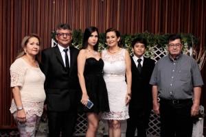 María Teresa Gómez, Javier Vargas, Silvia Catalina Vargas, Sandra Isabel López, Andrés Felipe Vargas y Cristo Jesús López. - Fabián Hernández /GENTE DE CAÑAVERAL