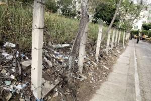 El terreno cercano al sector E1 de El Bosque se ha convertido en un basurero comunitario.  - Javier Gutiérrez /GENTE DE CAÑAVERAL