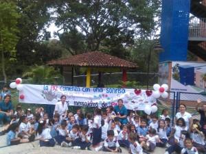Mediante esta jornada, se conversará desde las aulas sobre el papel de la educación en la construcción de paz en Colombia. - Suministrada/GENTE DE CAÑAVERAL