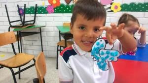 Los niños del colegio participaron activamente en esta jornada especial.   - Suministrada/GENTE DE CAÑAVERAL