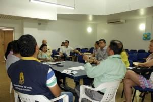 Las autoridades se reunieron para acordar los  controles que se realizarán en las diferentes empresas del municipio.  - Suministrada/GENTE CAÑAVERAL