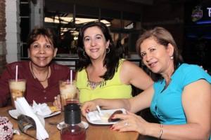Clara Inés Blanco, Mariela Ortiz y Ligia Correa. - Fabián Hernández /GENTE DE CAÑAVERAL
