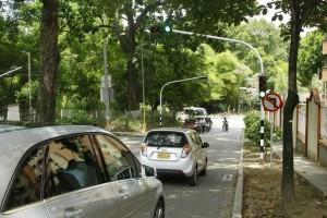 El tiempo de los semáforos de Zona Refrescante también serán ajustados para evitar congestiones. - Fabián Hernández / GENTE DE CAÑAVERAL