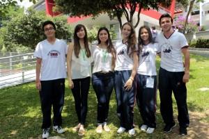 Camilo Andrés Barbosa, Daniela Páramo, Laura García, Laura Catalina Chagin, Andrea Granados y Lucas Rueda. - Fabián Hernández /GENTE DE CAÑAVERAL