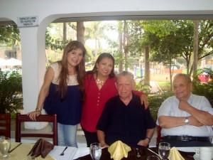 Jaime Gutiérrez Ribero, Miguel Francisco Narváez Obregón, Martha Beatriz Ruiz Díaz y María Pérez Argüello. - Suministrada/GENTE DE CAÑAVERAL
