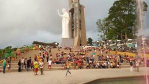 El Cerro del Santísimo recibió una visita masiva de turistas durante Semana Santa.  - Archivo/GENTE DE CAÑAVERAL