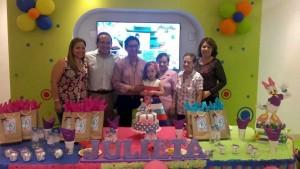 Diana Maldonado, Jairo Velasco, Joselín Maldonado, Julieta Velasco, Rosa Delia Granados, Noemy Granados y Evelinda Osorio. - Suministrada/GENTE DE CAÑAVERAL