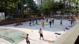 Las jornadas deportivas cuentan con el apoyo de la Junta de Acción Comunal. - Suministrada/GENTE DE CAÑAVERAL