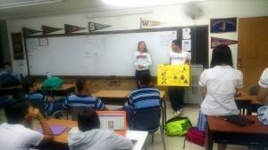 Los estudiantes del colegio Panamericano trabajan para promover el cuidado del medio ambiente y la naturaleza.  - Suministrada /GENTE DE CAÑAVERAL