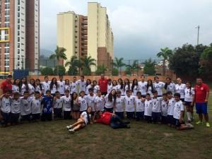 Estudiantes del colegio Panamericano participaron en los Juegos Binacionales que se desarrollaron en la ciudad de Armenia.