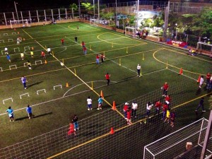 Los estudiantes se preparan para las jornadas deportivas, organizadas por el plantel educativo para compartir en familia.  - Suministrada/ GENTE dE CAÑAVERAL