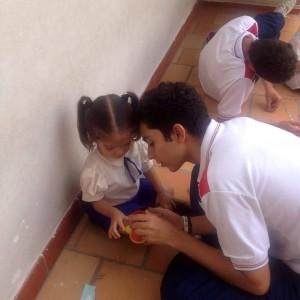 Los estudiantes de Fcuis recibirán talleres de sensibilización y simultáneamente continuarán realizando campañas de servicio social.  - Suministrada/ GENTE dE CAÑAVERAL