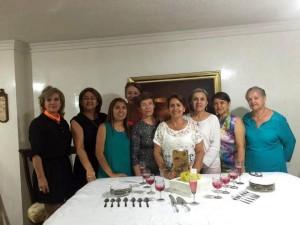 Luz Marina Ramírez, Clemencia Sáenz, Mónica Acelas, Nohemí Meléndez, Isabel Gómez, Sonia Ardila, Celmira Flórez, Rubiela Anaya y Celina Ardila.   - Suministrada /GENTE DE CAÑAVERAL