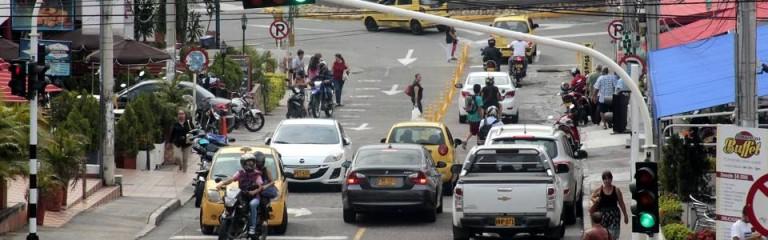 La carrera 26 entre calles 30 y 31 sigue siendo bidireccional, pero en los próximos días podría quedar de un solo sentido