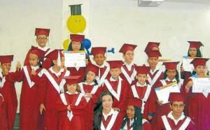 La primera ceremonia de graduación se realizó el pasado 1 de abril, con más de 50 'graduandos'. - Suministrada/GENTE DE CAÑAVERAL