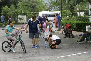 Niños y adultos podrán participar en esta actividad recreativa y deportiva.  - César Flórez/GENTE DE CAÑAVERAL