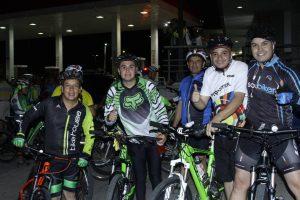 La ruta del relanzamiento contó con una participación masiva de ciclistas. - César Flórez/GENTE DE CAÑAVERAL
