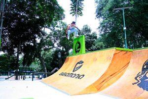 El campeonato de Roller, en la categorías amateur y pro, se realizará en la pista ubicada en el Parque de la Salud.  - Suministrada  Francisco Silva /GENTE DE CAÑAVERAL
