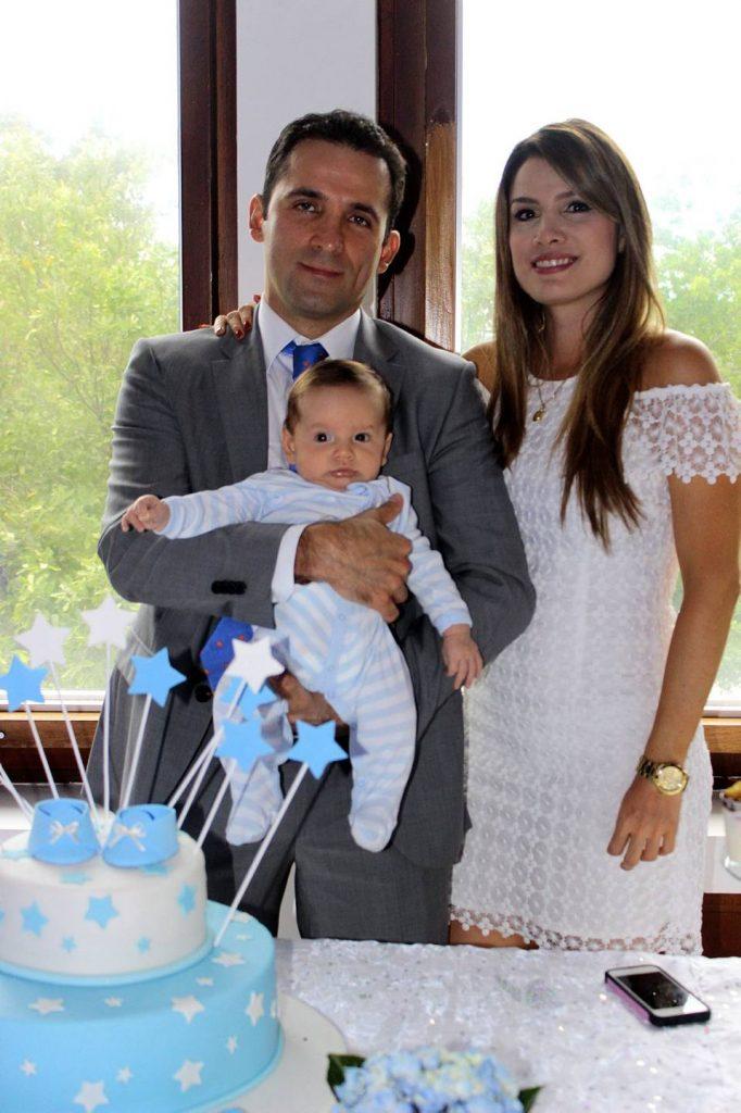 Camilo Reyes, Benjamín Reyes Beltrán y Sandra Beltrán.  - Fabián Hernández/GENTE DE CAÑAVERAL
