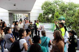 Mediante campañas de sensibilización, las autoridades buscan combatir la violencia contra las mujeres.  - Fabián Hernández/GENTE DE CAÑAVERAL