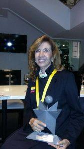 Felicidades a Dora Herrera Anaya, rectora de la Escuela Normal Superior de Bucaramanga, quien hace parte de la comunidad de Cañaveral.  - Suministrada/GENTE DE CAÑAVERAL
