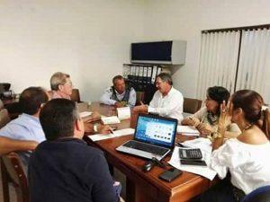 Los representantes de la JAC aseguraron que hay interés por parte de la Alcaldía para solucionar los problemas.  - Suministrada/GENTE DE CAÑAVERAL