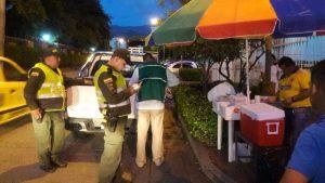 Las autoridades de Floridablanca retiraron a los vendedores ambulantes del sector de Buganvilia.  - Suministrada/GENTE DE CAÑAVERAL