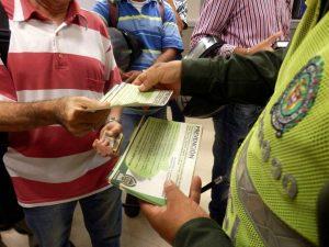 Las autoridades continúan con las campañas de seguridad para que los clientes bancarios no sean víctimas del fleteo. - Suministrada/GENTE DE CAÑAVERAL