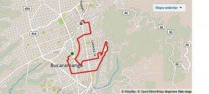 La ruta partirá del parque Turbay y llegará a la calle 35 con carrera 32. - Suministrada/GENTE DE CAÑAVERAL