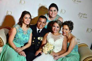 Isabel Mantilla, Óscar Robles, Jenifer Castillo,  Angélica Delgado  y Sandra Ardila. - Hernando Galeano/GENTE DE CAÑAVERAL