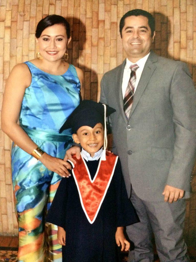 Diana Álvarez, Juan Esteban Pinzón Álvarez y Luis Eduardo Zapata.  - Suministrada/GENTE DE CAÑAVERAL