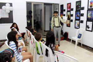 En el Club de Mediterrané se hizo el taller de lectura para los niños del condominio.  - Fabián Hernández /GENTE DE CAÑAVERAL