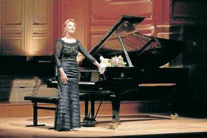 La venezolana Gabriela Montero, ganadora del Latin Grammy 2015 por Mejor álbum de música clásica, inaugura el Festival de Piano. - Fotos: Suministradas/GENTE DE CAÑAVERAL