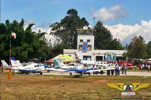 La escuela Aviacol es la organizadora de este festival aéreo civil turístico.  - Internet /GENTE DE CAÑAVERAL