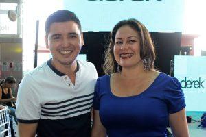 Carlos Sánchez y Leidy Martínez. - Fabián Hernández /GENTE DE CAÑAVERAL