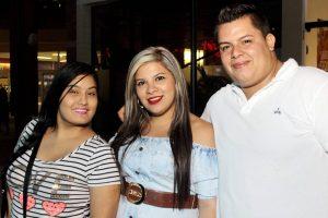 Leidy Rugeles, María Camila Cárdenas y Jhon Edinson Solano. - Fabián Hernández/GENTE DE CAÑAVERAL