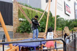 Los visitantes podrán disfrutar de las atracciones mecánicas en 3D que ofrece el centro comercial este mes.  - Suminisrada/GENTE DE CAÑAVERAL