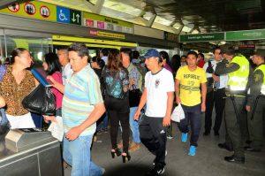 Las rutas P8 y P13 seguirán parando en la estación de Cañaveral, según indicó Metrolínea.  - Archivo/GENTE DE CAÑAVERAL