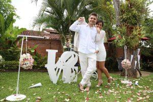 Jesús David Díaz Villar y Paula Andrea Bayona López.  - Suministrada/GENTE DE CAÑAVERAL