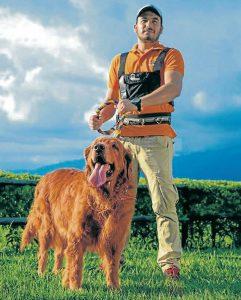 Hila, la hija perruna de Joel y Diana, fue inspiración para crear Walking Dog. - Suministrada/GENTE DE CAÑAVERAL