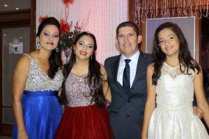 Lucía Clemencia Buitrago, Valeria Ruiz Buitrago, Elmer Jair Ruiz e Isabella Ruiz Buitrago. - Fabián Hernández /GENTE DE CAÑAVERAL