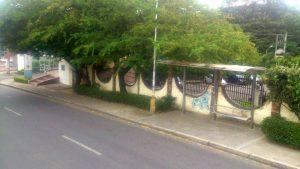 Esta es la antigua parada de Metrolínea, cerca de la universidad Santo Tomás.   - Suministrada/GENTE DE CAÑAVERAL