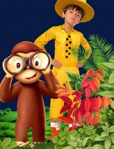 'Jorge el Curioso y el hombre del sombrero amarillo' será el evento central para los niños en Cuarta Etapa. - Suministrada/GENTE DE CAÑAVERAL