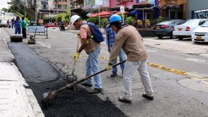 La Alcaldía sigue trabajado en mejorar la malla vial de Cañaveral.  - Suministrada/GENTE CAÑAVERAL