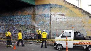 La recuperación estética de puentes y murales se prolongará hasta el próximo año. - Suministrada / GENTE DE CAÑAVERAL