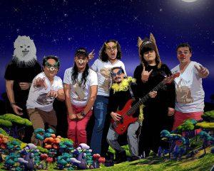 La obra es interpretada por la banda Ensamble rock animal. - Suministrada/GENTE DE CAÑAVERAL