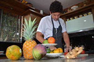 Nicolás Martínez ha recorrido diferentes partes del mundo para investigar y conocer más sobre la gastronomía y ofrecer nuevas propuestas a sus clientes