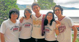 Los estudiantes de nivel superior lograron el segundo lugar en estas pruebas regionales.  - Suministrada/GENTE DE CAÑAVERAL